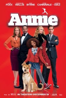 annie movie poster (2014)