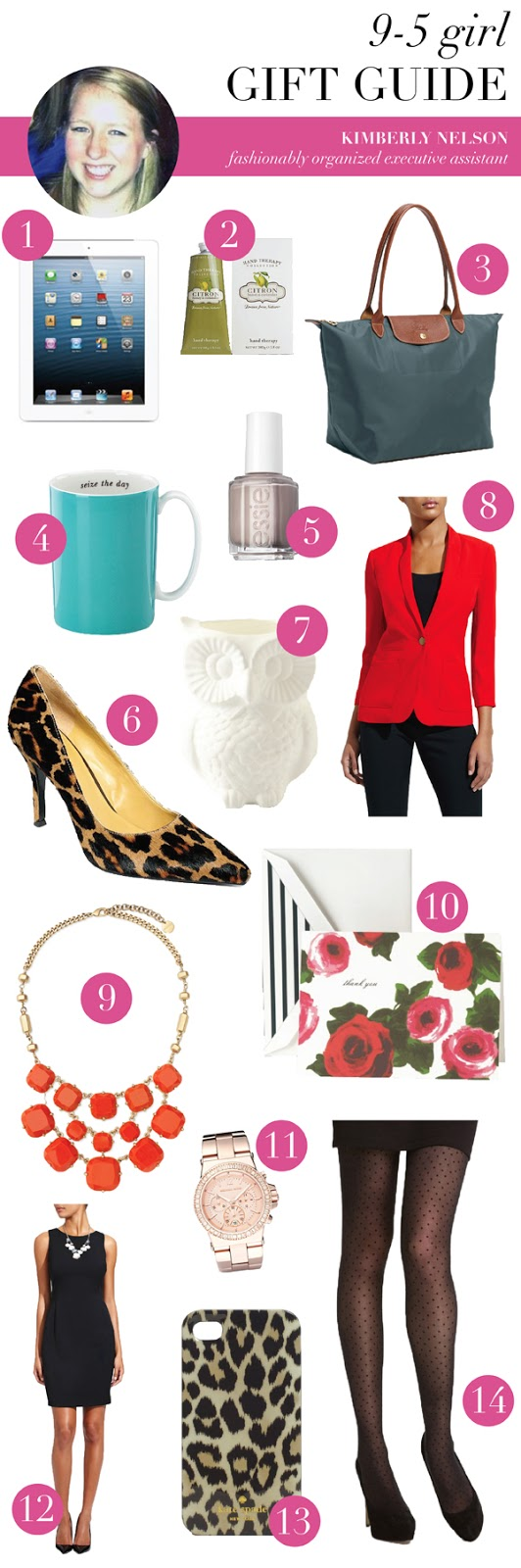 9-5 girl gift guide (via Holly Would)