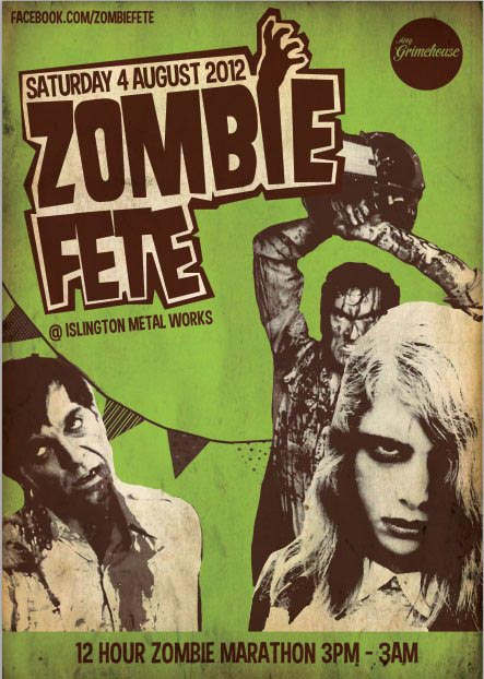 Zombie Fete Poster