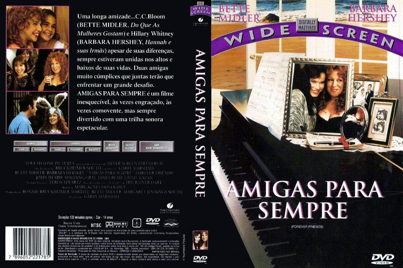 Capa DVD Amigas Para Sempre