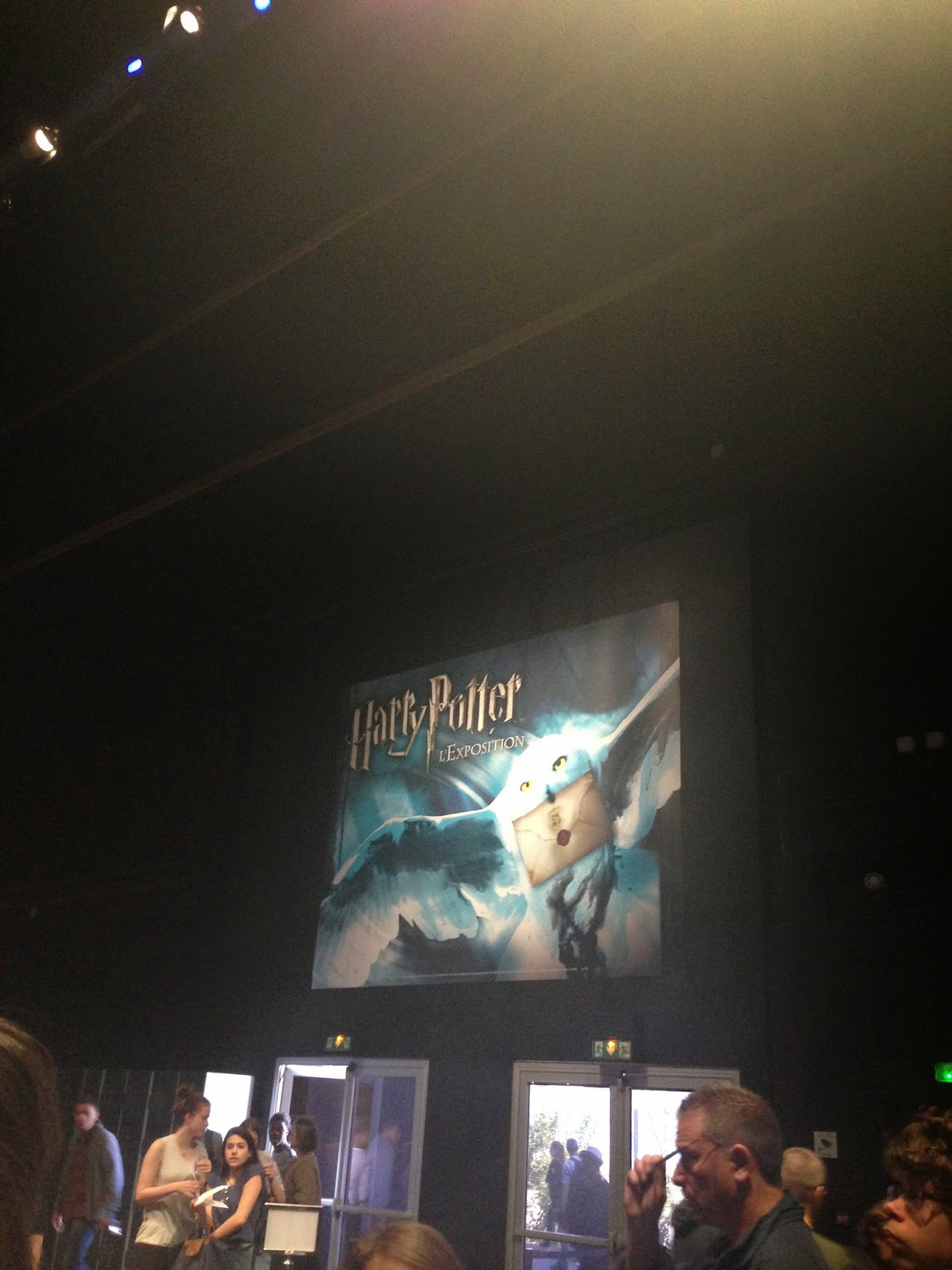 affiche de l'exposition d'harry potter