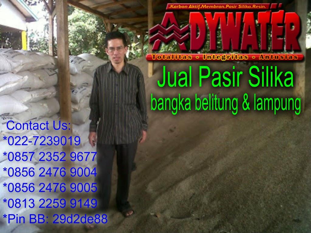 Jual Pasir Silika | Pasir Silika Filter Air | Pasir Silika Bangka & Lampung
