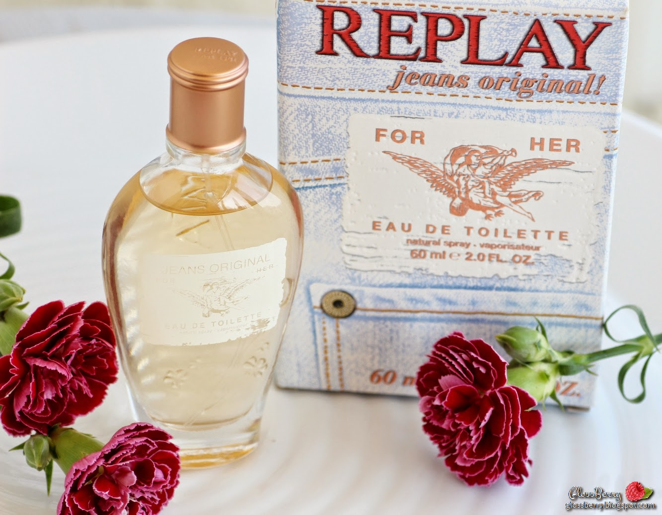 replay original jeans perfume edt review סקירה בושם ריפליי אוריג'ינל ג'ינס for her גלוסברי בלוג beauty blog glossberry