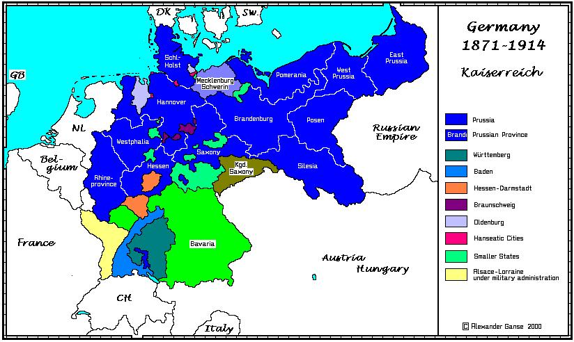 Germany - Germany map after the versailles treaty