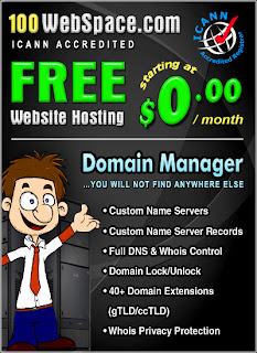 Free Website Hosting With 100Webspace