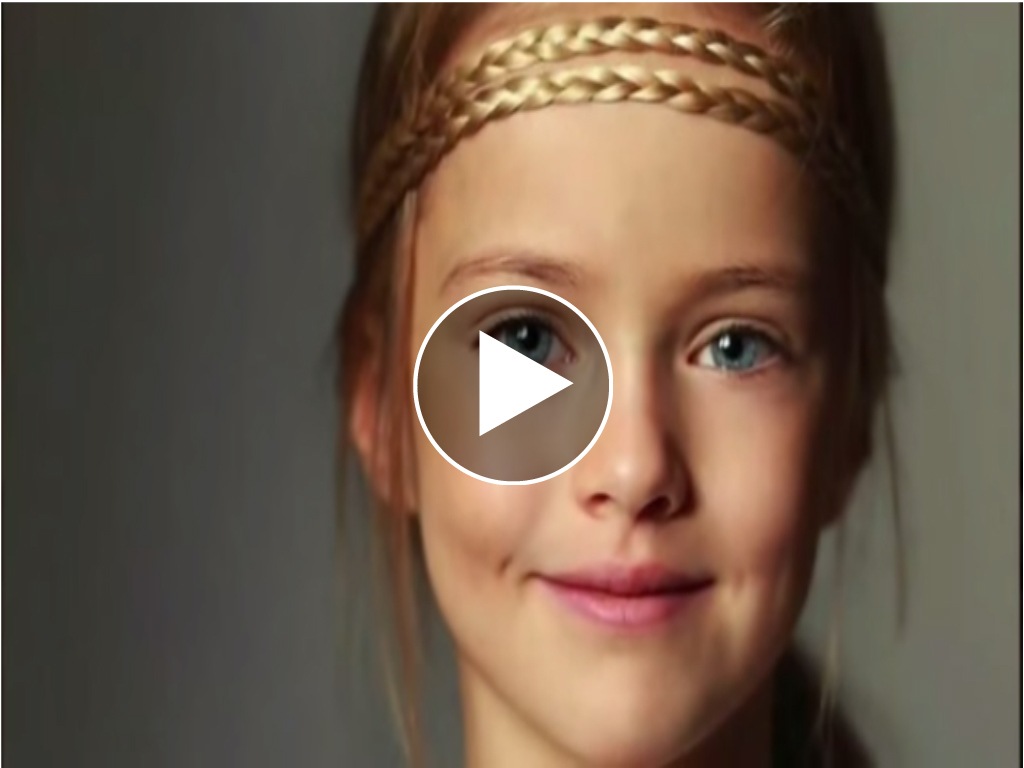 Meet The Young Girl Hailed As The 39 Most Beautiful Girl In