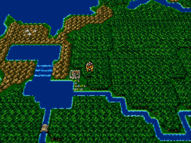 My all time favourite video games final fantasy ii nintendo snes the programmers made use of some graphical trickery in final fantasy ii some areas have parallax scrolling and when flying an airship the world map tilts gumiabroncs Gallery