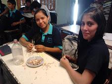 PRACTICAS EN EL TALLER DE APICULTURA DE  9° AÑO