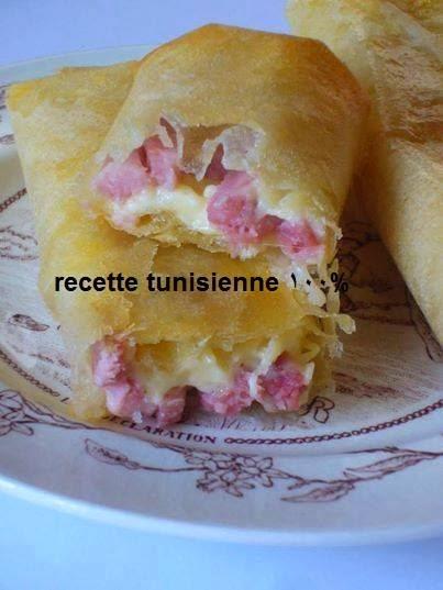 """Brik jambon de """"dinde"""" fromage"""