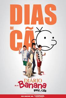baixar capa Diário De Um Banana 3: Dias de Cão   BDRip AVI Dual Áudio + RMVB Dublado