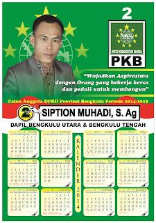 Cetak Kalender Pemilu 2014