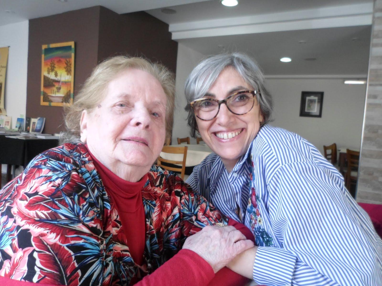 Con mi hermana Monica Portela
