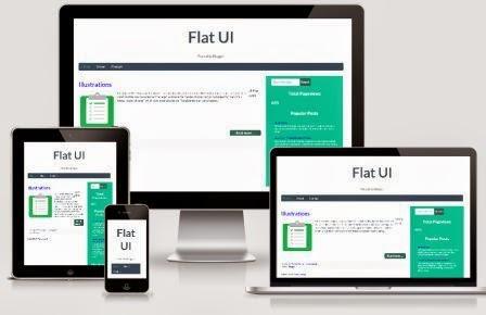 Flat UI Responsive Temeplate - Theme dành cho di động