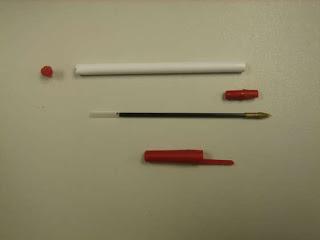 cách làm cung tên từ bút bi