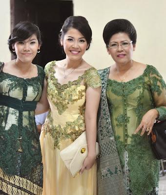 Model Baju Kebaya Keluarga
