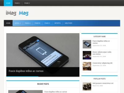 iMag Mag WordPress Themes