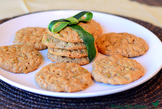 Oatmeal Zucchini Cookies recipe