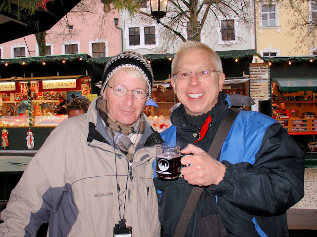 My very first cup of Glühwein in Passau. Photo: Property of EuroTravelogue™. Unauthorized use is prohibited.
