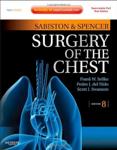 Sabiston và Spencer Phẫu thuật Lồng ngực toàn tập 8e