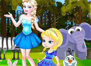 Frozen Elsa Forest