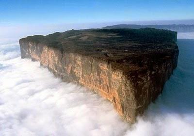 gambar Keajaiban Dunia Gunung Roraima