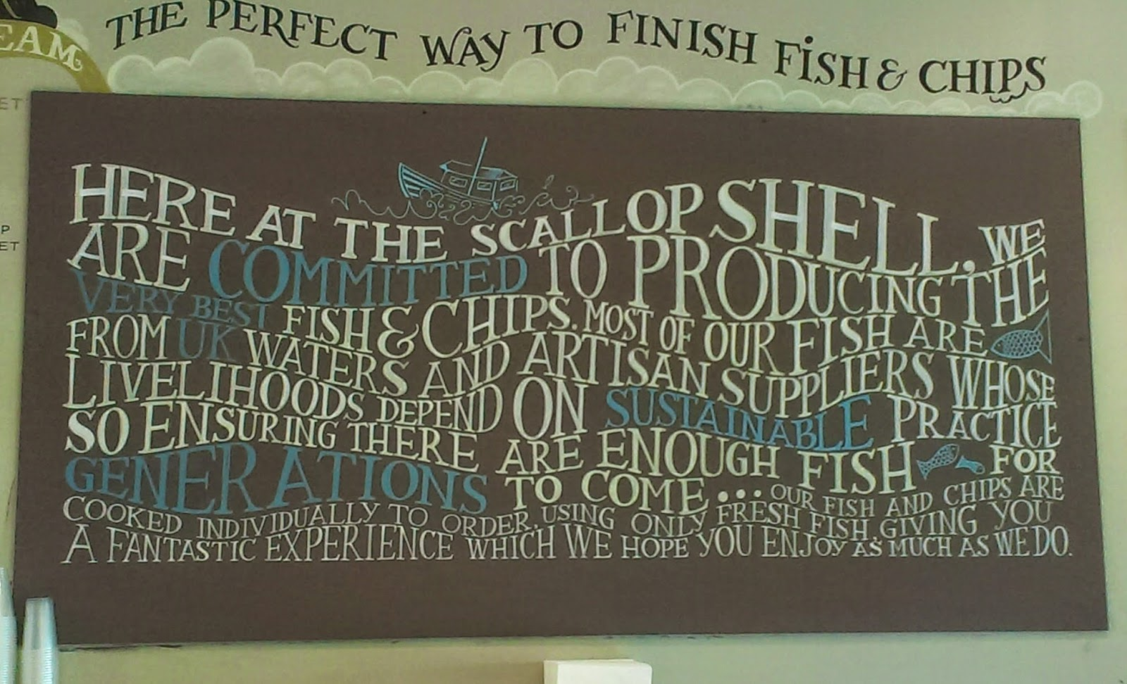 The Scallop Shell Beckington Ethos