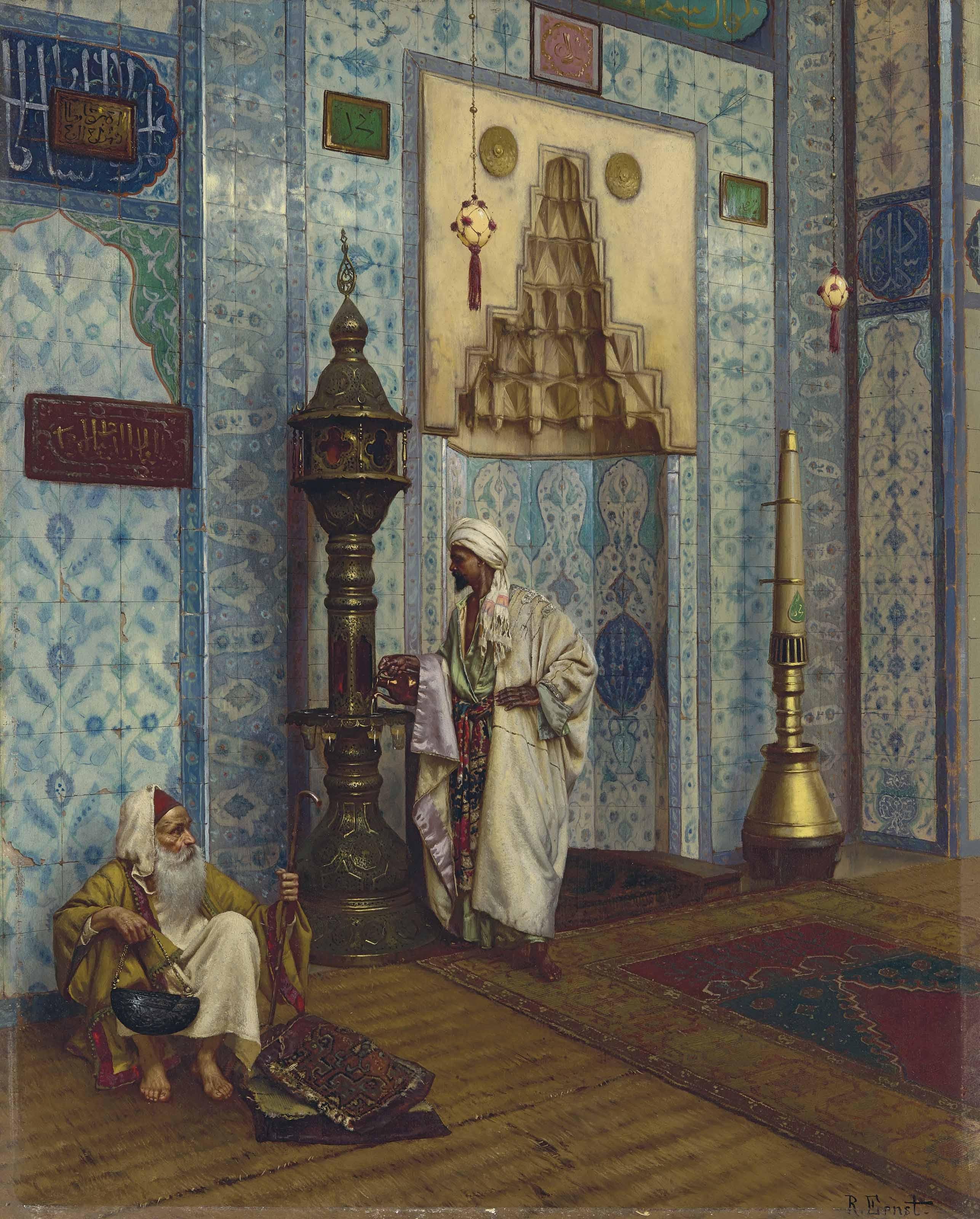 Rudolf Ernst In the mosque