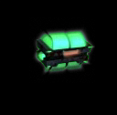 Coffre vert