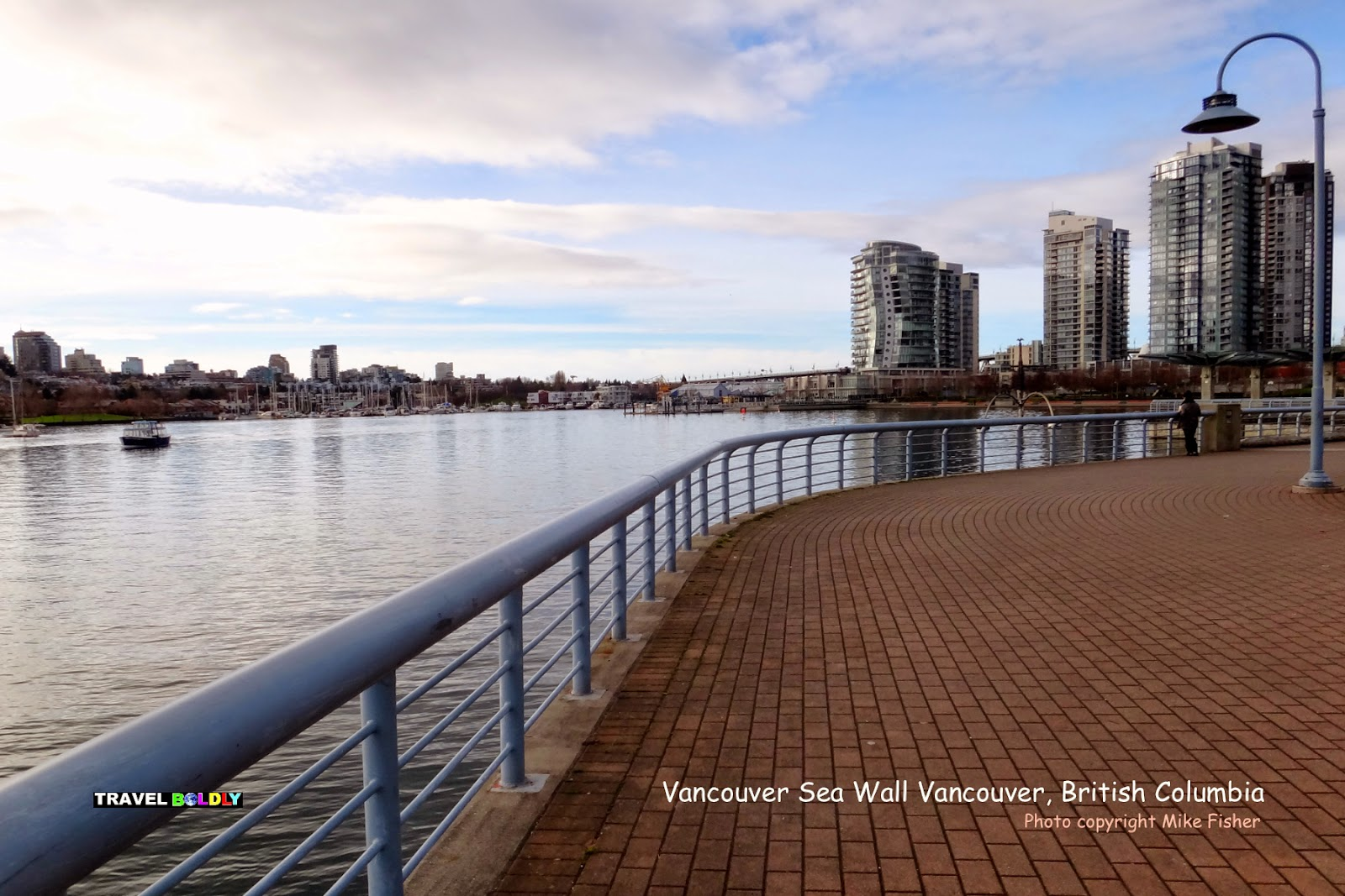 Vancouver Sea Wall Vancouver, British Columbia - Photo Mike Fisher for Travel Boldly