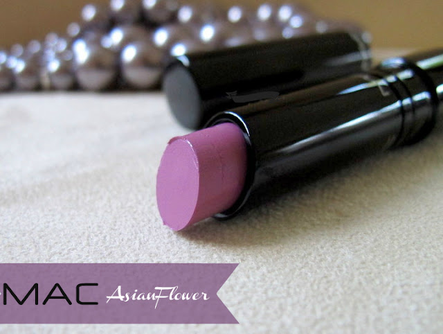 mac sheen supreme asian flower lipstick