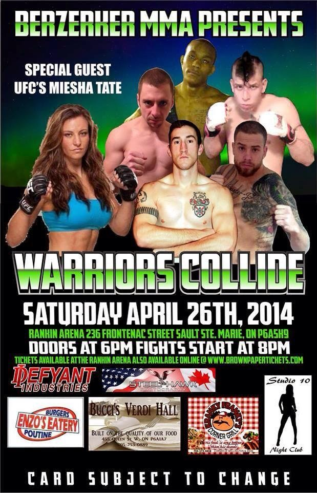 Berserker MMA:  Warriors Collide
