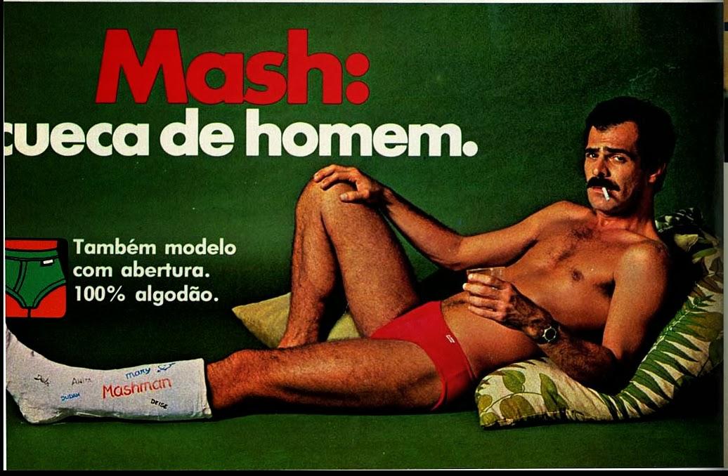 Propaganda das Cuecas Mash em 1979