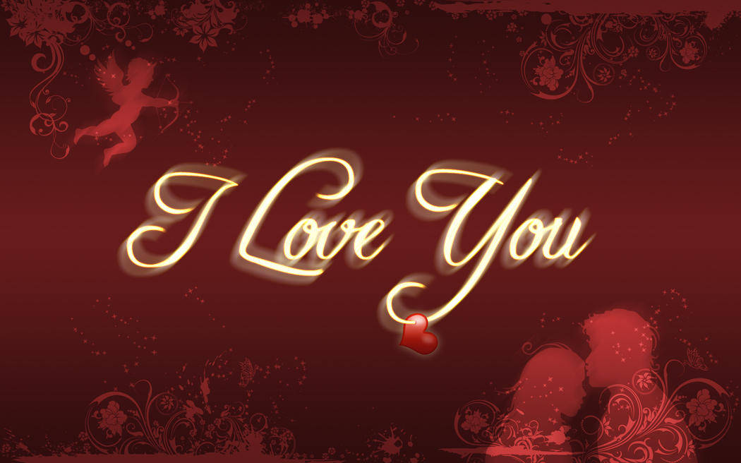Wallpaper Desk : I love you wallpaper, i love you ...