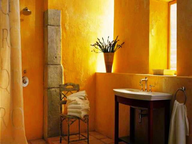 wall painting ideas for bathroom
