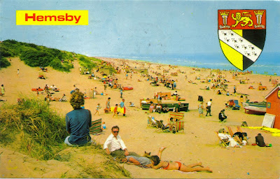 Hemsby, Norfolk in 1970s