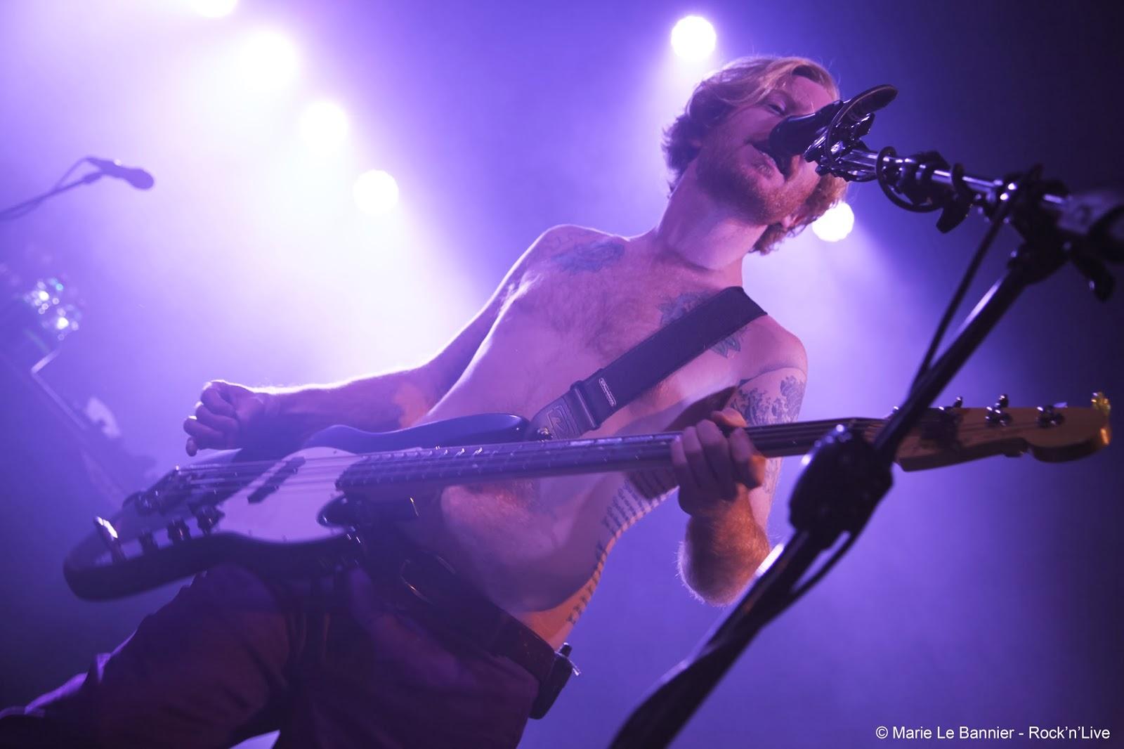 Rock'n'Live Concert Live Report 2013 Paris Trianon Biffy Clyro Opposite Biblical Simon Neil Ben Johnston James Marie Le Bannier