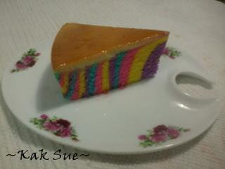 Karamel Kek Pelangi