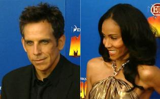 Ben Stiller and Jada Pinkett Smith at the premiere for Madagascar 3: Europe's Most Wanted Madagascar 3: Europe's Most Wanted http://animatedfilmreviews.filminspector.com/2012/12/madagascar-3-europes-most-wanted-2012.html
