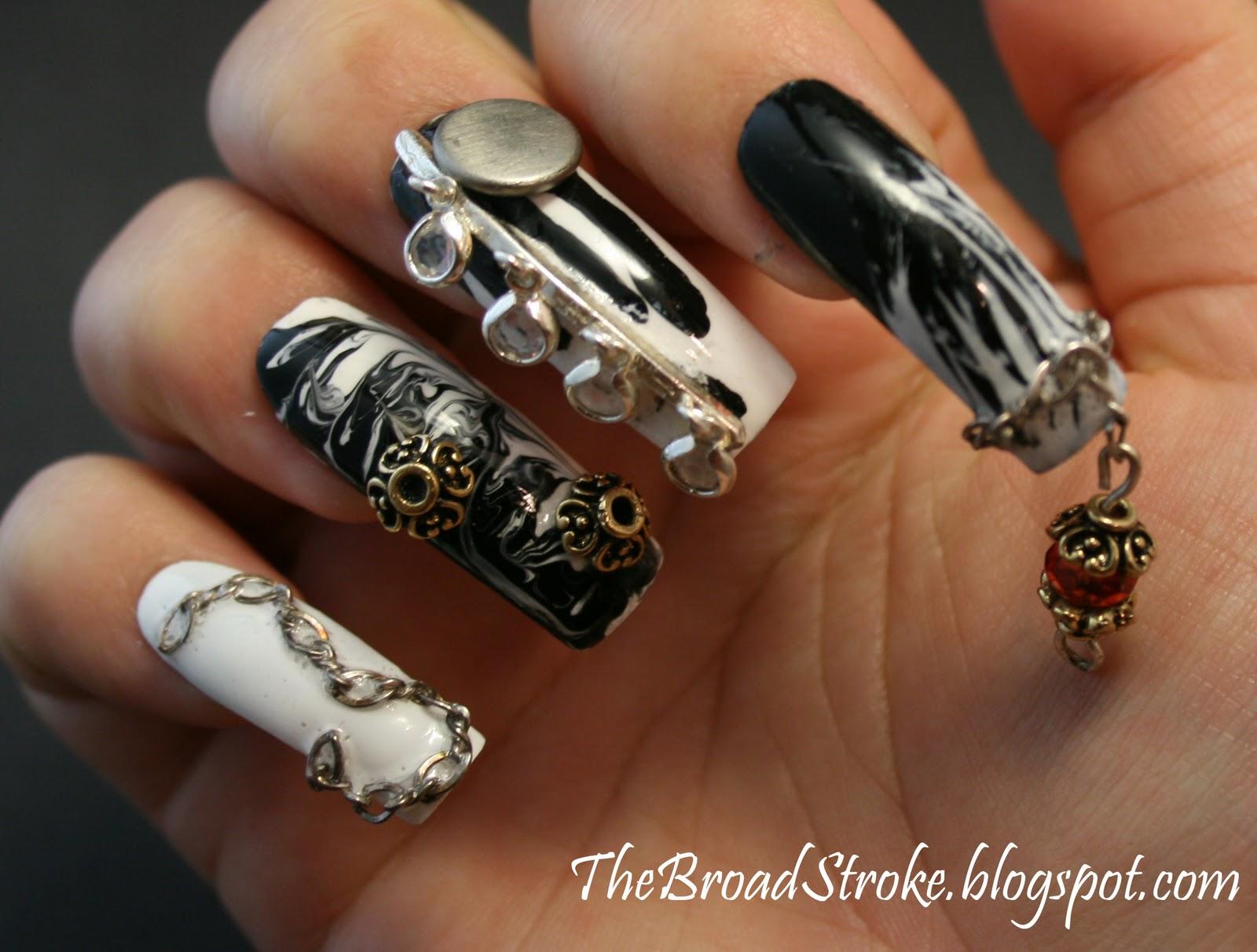 Nail Dangle Jewelry | Best Nail Designs 2018