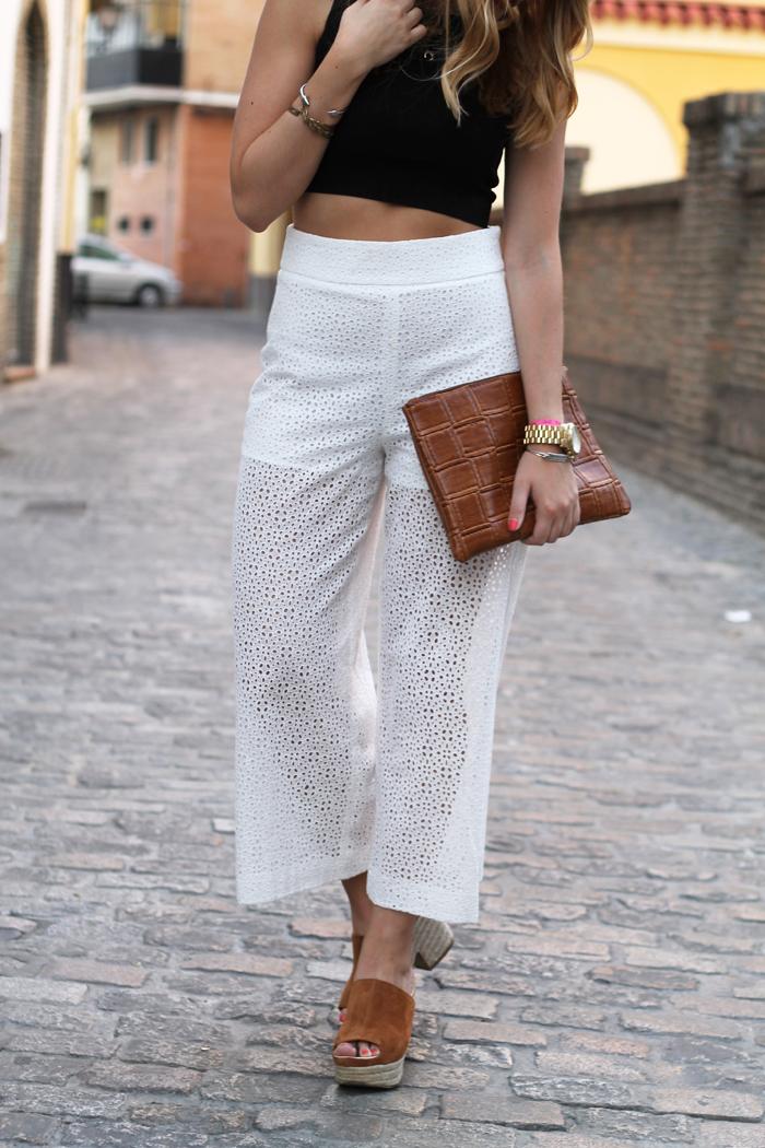 Crochet culottes