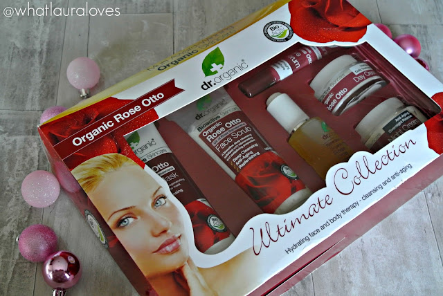 Christmas Gift Guide Dr Organic Rose Otto Ultimate Collection