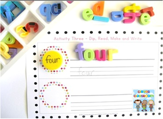 http://www.teacherspayteachers.com/Product/Bottle-Cap-Reading-and-Writing-Centers-x-5-for-any-word-list-836700