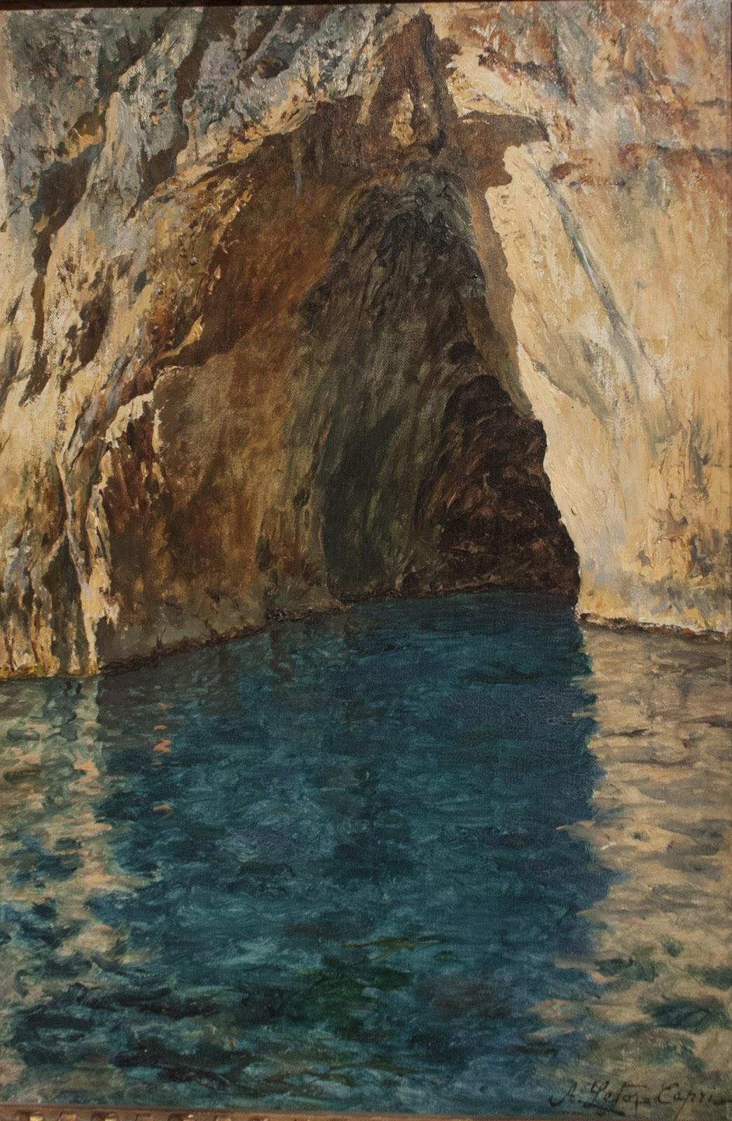Antonino Leto Grotta rossa