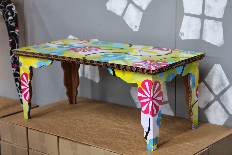 Eco deco diy mesa de carton - Mesas de carton ...