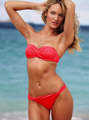 Candice Swanepoel looks so hot body for Victoria's Secret sexy bikini model photos