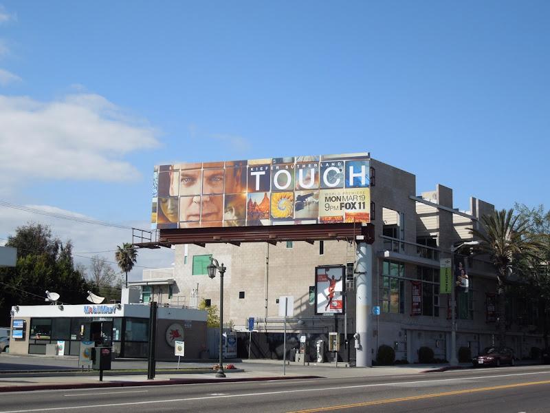 Touch series premiere TV billboard