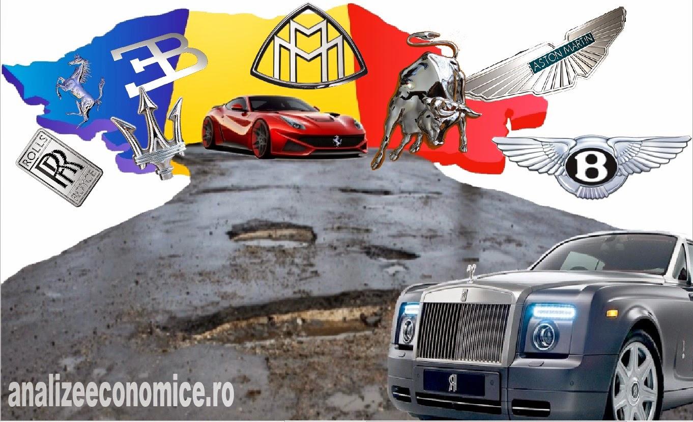 Mărcile de mașini de fițe înregistrate în România
