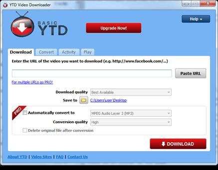 Youtube Downloader Pro YTD 5.1.0 Free Download