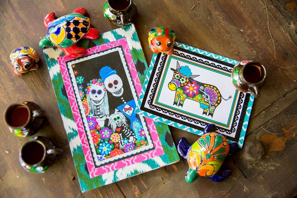 cinco de mayo wedding inspiration, day of the dead wedding, mexican folk art