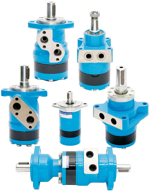 Mobile and industrial hydraulic valves and systems for Hydraulic motor spool valve